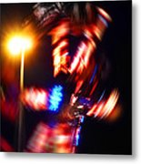 Spin Two Metal Print by Charles Stuart
