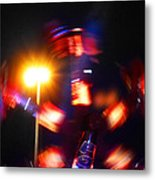 Spinning Ride Metal Print