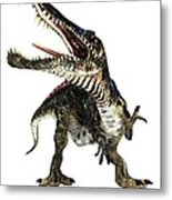 Spinosaurus Dinosaur, Artwork Metal Print by Animate4.comscience Photo Libary