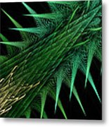 Spiny Branch Metal Print