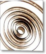 Spiral Metal Print by Bernard Jaubert