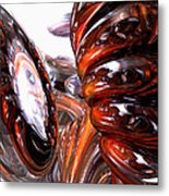 Spiral Dimension Abstract Metal Print