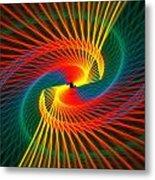 Spiral Rainbow  Metal Print
