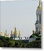 Spires Of Church Metal Print