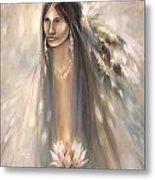Spirit Woman Metal Print