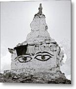 Spirituality In The Himalayas Metal Print