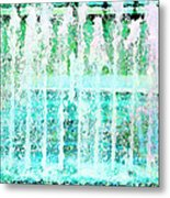 Splash Metal Print