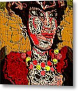 Splashy Lady Metal Print by Natalie Holland