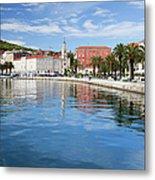 Split Bay In Croatia Metal Print