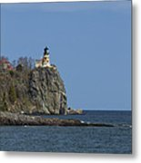 Split Rock Lighthouse 90 Metal Print