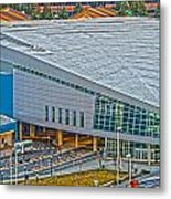 Spokane Convention Ctr From Atop Onb Metal Print