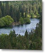 Spokane River Scene 2 Metal Print