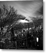 Spooky Night Metal Print by Ken Stachnik