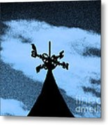 Spooky Silhouette Metal Print by Al Powell Photography USA