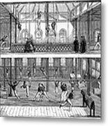 Sports: Gymnastics, 1859 Metal Print