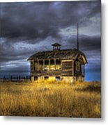 Spot On The School House Metal Print