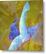 Spread To The Wind Metal Print by Shirley Sirois