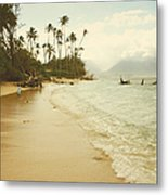 Sprecks Beach Metal Print