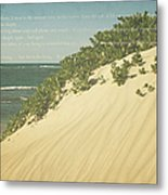 Sprecks - The Dunes Metal Print