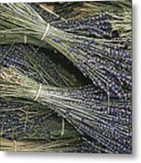 Sprigs Of Lavender, Provence Region Metal Print