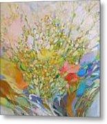 Spring - Square Painting Metal Print