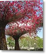 Spring Bloom At The Getty Metal Print