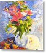 Spring Bouquet Metal Print