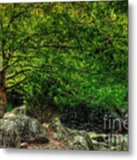 Spring Canopy Metal Print