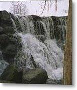 Spring Falls Metal Print