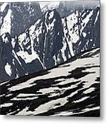 Spring In Alaska Mountains Metal Print by Michael S. Quinton