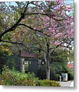 Spring In Bloom At The Japanese Garden Metal Print