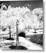 Spring In Infrared Metal Print