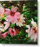 Spring Is In Blossom Metal Print