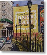 Spring Street At Basin Park Metal Print
