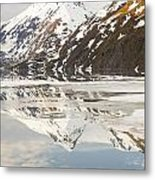 Spring Time On A Mountain Lake Metal Print