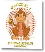 Spunky The Monkey Metal Print by John Keaton