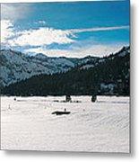 Squaw Valley Panoramic Metal Print