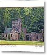 Squires Castle Metal Print