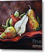 Srb Pears Metal Print