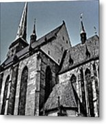 St. Bartholomew Cathedral - Pilsen Metal Print
