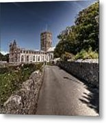 St Davids Cathedral Pembrokeshire 2 Metal Print
