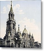 St. Demitry Church - Charkow - Ukraine - Ca 1900 Metal Print