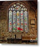 St Dyfnog Church Metal Print