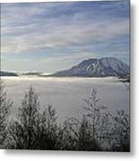 St Helens Above Clouds Metal Print