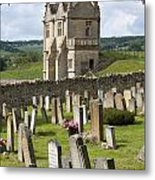 St James Church Graveyard Metal Print