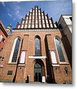 St. John Archcathedral In Warsaw Metal Print