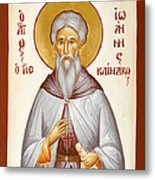 St John Climacus Metal Print