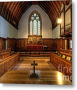St John's Church Altar - Filey  Metal Print
