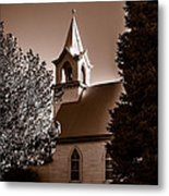 St. John's Lutheran Church In The Trees Metal Print