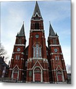 St. Josaphat Roman Catholic Church Detroit Michigan Metal Print by Gordon Dean II